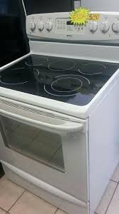 kenmore glass top range designs