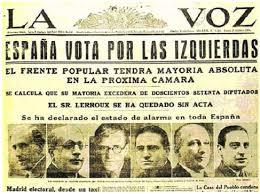 Portada de La Voz (1931)
