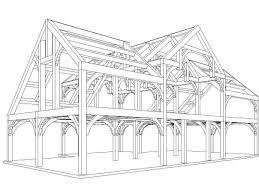frame wood house plans modern timber a frame timber frame house plans a small