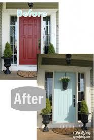painting a front door24 best Painted Front Doors images on Pinterest  Front door