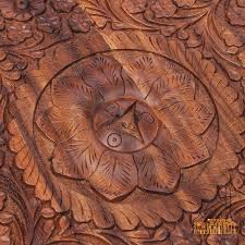 Wood Carving Patterns Custom Pakistan Imported Wood Carving Table Antique Solid Wood Carving