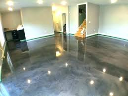 Basement Floor Paint Ideas Impressive Design