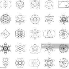 Crystal Grid Patterns Simple Inspiration Design