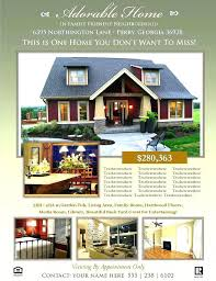 Real Estate Brochure Template Free Publisher Real Estate Flyer Templates Template Free Download
