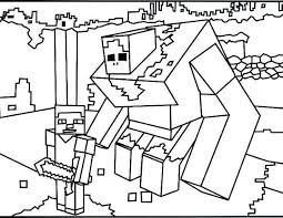 Minecraft Coloring Pages Beautiful Free Printable Boys Coloring
