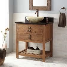 30 benoist reclaimed wood console vessel sink vanity pine