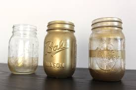 view in gallery mason jars spray painted go
