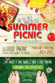 Picnic Flyers Summer Picnic Free Psd Flyer Template Best Of Flyers