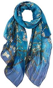 Silk Scarf Lightweight Soft <b>Summer</b> Scarfs Chiffon Shawls And ...