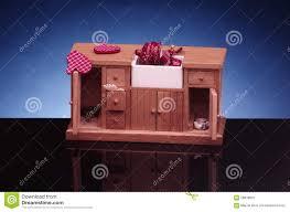 Dolls House Kitchen Furniture Detail Of Retro Doll House Kitchen Furniturecupboard With Sink On