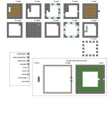 Small Picture Minecraft Simple House Blueprints Places to Visit Pinterest