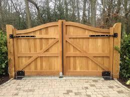 automatic wood fence gate inspirational 45 best diy driveway gate kits