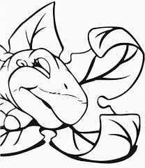 Small Picture Land Before Time Family Little Foot is Sleeping Coloring Page