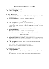 outline of essay example senior paper descriptive writing   outline of essay example 17 simple layout