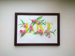 paper quilling wall art images