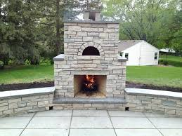 outdoor fireplace and pizza oven outdoor stone fireplace and pizza oven in st park traditional outdoor