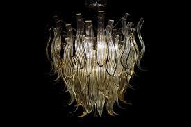 Handgefertigte Kronleuchter Aus Glas Idfdesign