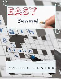 Course Designer Crossword Puzzle Clue Easy Crossword Puzzle Senior Brain Games Crossword Puzzle