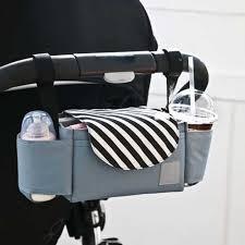 Universal <b>Cartoon</b> Animal Pattern <b>Baby Stroller Organizer</b> Bag ...