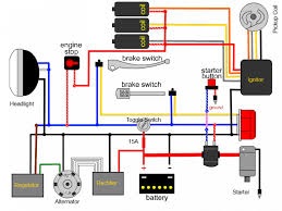 wiring simplified solidfonts simplified wiring harness question about regulator yamaha xs400