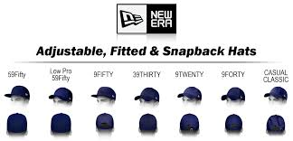Center Cap Size Chart New Era Hat Styles The Ultimate New Era Style Guide