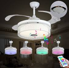 42 bluetooth invisible ceiling fan