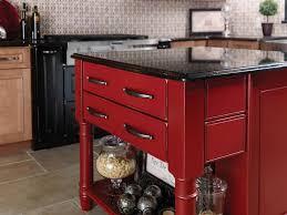 Red And Black Kitchen Cabinets Dark Red Kitchen Island 10091520170520 Ponyiexnet