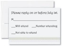 Wedding Response Card Wording For Diy Weddings Paperdirect Blog