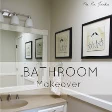 The Pin Junkie Laundry Room Makeover Reveal - Bathroom makeover
