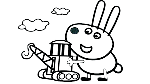 Peppa Pig Coloring Pig Coloring Pages Book Plus Adult For Children