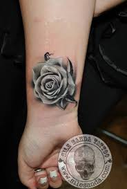 Tattoos Arm Tattoo Rose Tattoo Artists On Tumblr Tattooed Women Color |  Rose tattoos on wrist, White rose tattoos, Tattoos