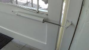 How to Install a Screen Door Closer - YouTube