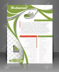 Menu Card Template Restaurant Hotel Flyer Menu Card Template