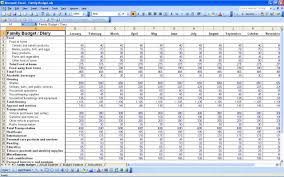 Budget Excel Spreadsheet Free Download Business Sheet Monthly