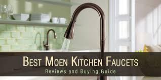 top 5 best moen kitchen faucets reviews
