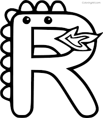 *this post contains affiliate links. Monster Shaped Letter R Coloring Page Coloringall