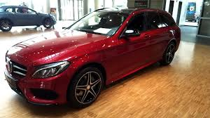 Someone know why my c300 2016 4 matic. 2015 2016 Mercedes W205 C Class Wagon Amg Beautiful Red Color C200 C300 C400 C450 Quick Review Youtube