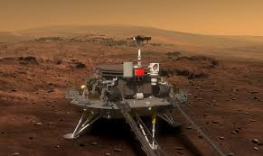 Image result for sent back the first close-up photograph of Mars' surface.