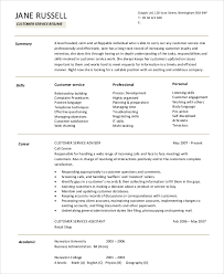 Summary Statement For Resumes Customer Service Resume Summary Statement Resume Summary