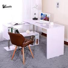 wrap around office desk. best high gloss white corner desk wraparound computer home office u bookshelf ebay with wrap around