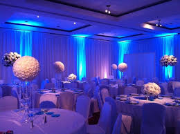 diy wedding reception lighting. Spectacular Setup At This #blue #uplighting #wedding #reception! #diy # Diy Wedding Reception Lighting N