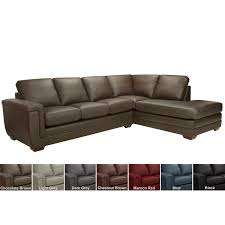 porsche top grain italian leather sectional sofa on free today 8093138