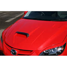 Valiant <b>Капот</b> с <b>карбоновым воздухозаборником</b>, Mazda 3 MPS ...
