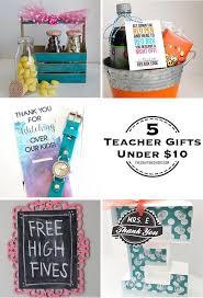 5 teacher gifts under 10