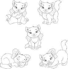 Kitten Kleurplaat Premium Clipart Clipartlogocom