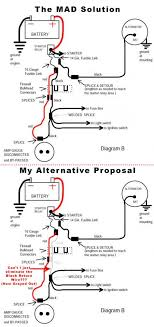 bypassing the amp gauge question about the mad electrical method How To Wire An Amp Gauge Diagram amp_wire_bypass jpg Amp Meter Wiring Diagram