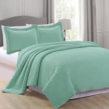 Buy Aqua Quilt Set from Bed Bath & Beyond & Great Home Bay Rianni King Quilt Set in Aqua Adamdwight.com