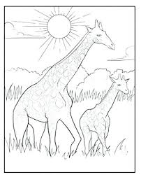 Giraffe Printable Giraffe Coloring Pages Printable Giraffe Coloring