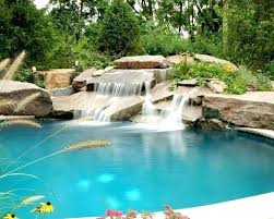in ground pools with waterfalls. Small In Ground Pools Pool Waterfalls Natural Stone Waterfall Installation Far Hills Pictures Of Inground Sizes With R