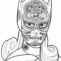 Kleurplaten Batgirl Kleurplaten Kleurplaatnl Coloring 5